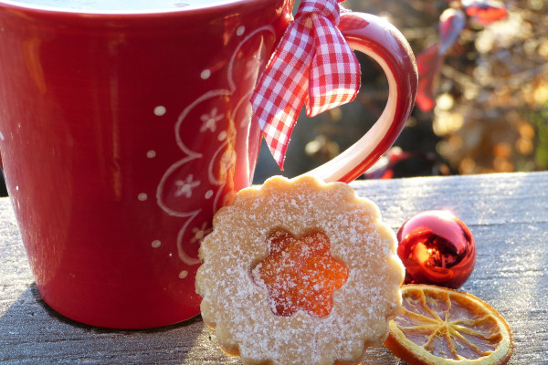 Christmas mug cookie